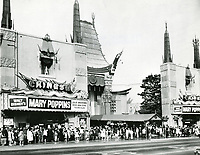 1964 Mary Poppins at Grauman's Chinese Theatre