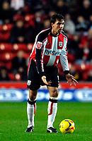 Photo: Alan Crowhurst.<br />Southampton v Burnley. Coca Cola Championship. 13/01/2007. Saints' captain Claus Lundekvam.