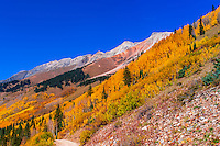 11,814 foot Ophir Pass, southwest Colorado USA.