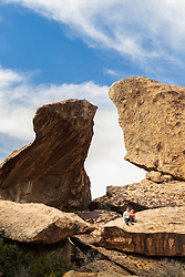 Hueco Tanks State Park & Historic Site, El Paso, Texas. USA.