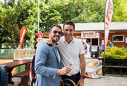 Denis Topcic and Gregor Krusic at Petrol VIP tournament 2018, on May 24, 2018 in Sports park Tivoli, Ljubljana, Slovenia. Photo by Vid Ponikvar / Sportida