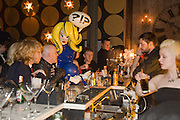 Pandemonia Panacea WAITING FOR A DRINK. Johnny Blue Eyes House of Blue Eyes Autumn/ Winter. Beach Blanket Babylon. Bethnal Green Rd. London. 24 February 2009.