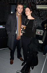 BAXTER DURY son of the late musician Ian Dury and ISABELLA McKEENEN at a party hosted by O2 to announce their support for grassroots music through the launch of a nationwide music talent search 'O2 Undiscovered' held at The Hospital, Endell Street, London on 8th March 2006.<br /><br />NON EXCLUSIVE - WORLD RIGHTS