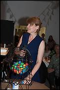 MELANIE JACKSON, Matt's Gallery 35th birthday fundraising supper.  42-44 Copperfield Road, London E3 4RR. 12 June 2014.