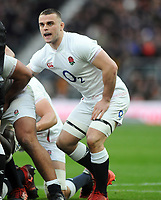 Football - 2020 Guinness Six Nations Championship - England vs. Ireland<br /> <br /> England new Boy , Ben Earl at Twickenham.<br /> <br /> COLORSPORT/ANDREW COWIE