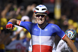 July 4, 2017 - Mondorf Les Bains / Vittel, Luxembourg / France - VITTEL, FRANCE - JULY 4 : DEMARE Arnaud (FRA) Rider of FDJ during stage 4 of the 104th edition of the 2017 Tour de France cycling race, a stage of 207.5 kms between Mondorf-Les-Bains and Vittel on July 04, 2017 in Vittel, France, 4/07/2017 (Credit Image: © Panoramic via ZUMA Press)