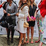NLD/Amsterdam/20120329 - Lancering 1e Giftsuite, Sylvana Simons, tatjana Simic, Candy Dulfer en Susan Smit