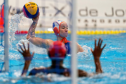 Nomi Stomphorst #6 of Netherlands in action during the friendly match Netherlands vs USA on February 19, 2020 in Amerena Amersfoort.