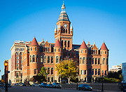 The Dallas County Courthouse, built in 1892 of red sandstone rusticated marble accents, is an historic governmental building located at 100 South Houston Street in Dallas, Texas. Also known as the Old Red Courthouse, it is now the Old Red Museum, a local history museum. It was designed in the Richardsonian Romanesque styla of architecture by architect Max A. Orlopp, Jr.of the Little Rock, Arkansas based firm Orlopp & Kusener. In 1966 it was replaced by a newer courthouse building nearby. On December 12, 1976, it was added to the National Register of Historic Places. In 2005-2007 the building was renovated.