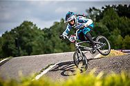 #78 (REIS SANTOS Paola) BRA [Supercross, Faith] at Round 8 of the 2019 UCI BMX Supercross World Cup in Rock Hill, USA