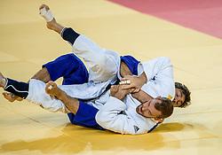 09-08-2016 BRA: Olympic Games day 4, Rio de Janeiro<br /> Joachim Bottineau BEL (wit) verliest van Matteo Marconcini ITA<br /> Photo by Ronald Hoogendoorn / Sportida