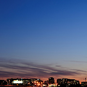 Skyline of Crystal City, Arlington, Virginia, taken from the Washinton DC side of the Potomac River