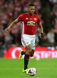 Antonio Valencia of Manchester United  - Mandatory by-line: Matt McNulty/JMP - 26/02/2017 - FOOTBALL - Wembley Stadium - London, England - Manchester United v Southampton - EFL Cup Final
