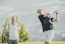 06.06.2019, Golfclub Zillertal, Uderns, AUT, Skijumpers Golf Trophy, im Bild Michael Hayboeck (AUT) // during the Skijumpers Golf Trophy at the Golfclub Zillertal, Uderns, Austria on 2019/06/06. EXPA Pictures © 2019, PhotoCredit: EXPA/Stefanie Oberhauser
