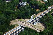 Nederland, Utrecht, Gemeente Zeist, 08-07-2010; omgeving Soesterberg, Ecoduct Beukbergen / Amersfoortseweg (N237)..luchtfoto (toeslag), aerial photo (additional fee required).foto/photo Siebe Swart