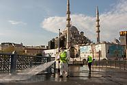 Istanbul under coronavirus lockdown COVID19