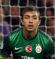 Galatasaray team player - Goalkeeper Fernando Muslera