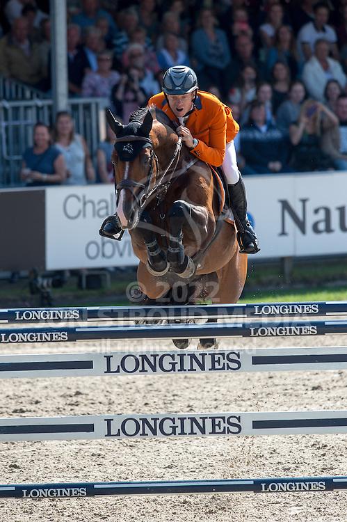 Willem Greve (NED) & Carambole NOP - Furusiya FEI Nations Cup presented by Longines - CHIO Rotterdam 2016 - Kralingse Bos, Rotterdam, Netherlands - 24 June 2016