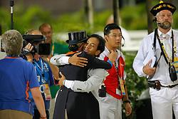 Van Grunsven Anky en Wibbi Soerjadi<br /> Olympic Games Hong Kong 2008<br /> Photo © Dirk Caremans - Hippo Foto