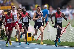 11.08.2013, Luzhniki Stadion, Moskau, RUS, IAAF Leichtathletik Weltmeisterschaft, im Bild KRYSTIAN ZALEWSKI, YOANN KOWAL 3000 METROW Z PRZESZKODAMI // during the IAAF world athletics championships at Luzhniki stadium in Moscow, Russia on 2013/08/11. EXPA Pictures © 2013, PhotoCredit: EXPA/ Newspix/ Kamil Jozwiak<br /> <br /> ***** ATTENTION - for AUT, SLO, CRO, SRB, BIH, TUR, SUI and SWE only *****