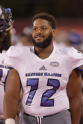 NORMAL, IL - September 08: Grant Branch during 107th Mid-America Classic college football game between the ISU (Illinois State University) Redbirds and the Eastern Illinois Panthers on September 08 2018 at Hancock Stadium in Normal, IL. (Photo by Alan Look)