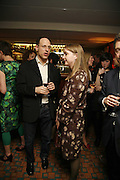 DARIEN LEADER AND DAISY DE VILLENEUVE, Sir Peter Blake and Poppy De Villeneuve host a party with University of the Arts London at the Arts Club, Dover Street, London. 20 APRIL 2006<br />ONE TIME USE ONLY - DO NOT ARCHIVE  © Copyright Photograph by Dafydd Jones 66 Stockwell Park Rd. London SW9 0DA Tel 020 7733 0108 www.dafjones.com