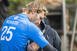 July 20, 2017 - Frederico Morais and Richard Dog Marsh put together a solid strategy throughout the Corona Open J-Bay to see Morais claim runner-up in his rookie year...Corona Open J-Bay, Eastern Cape, South Africa - 20 Jul 2017. (Credit Image: © Rex Shutterstock via ZUMA Press)