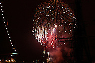 New Years fireworks in San Diego