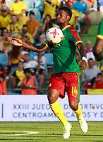 Cameroon's Georges Mandjeck during international friendly match. June 13,2017.(ALTERPHOTOS/Acero)