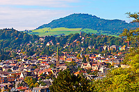 Overviews of Freiburg, Baden-Württemberg, Germany