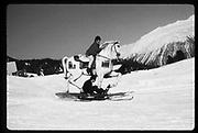 Cosmo Hulton, , St. Moritz 1984© Copyright Photograph by Dafydd Jones 66 Stockwell Park Rd. London SW9 0DA Tel 020 7733 0108 www.dafjones.com