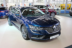 05.04.2016, Zagreb, CRO, Zagreb Auto Show, im Bild Renault Talisman // Press day at Zagreb fair before official opening of Zagreb Auto Show at Zagreb, Croatia on 2016/04/05. EXPA Pictures © 2016, PhotoCredit: EXPA/ Pixsell/ Dalibor Urukalovic<br /> <br /> *****ATTENTION - for AUT, SLO, SUI, SWE, ITA, FRA only*****