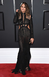 February 12, 2017 - Los Angeles, California, U.S. - Chrissy Teigen arrives for the 2017 Grammy Awards at Staples Center. (Credit Image: © Lisa O'Connor via ZUMA Wire)