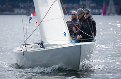 Largs Regatta Week 2017 <br /> Day 1<br /> <br /> Excalibur, Brian Young, Etchells, IRL 953<br /> <br /> Picture Marc Turner