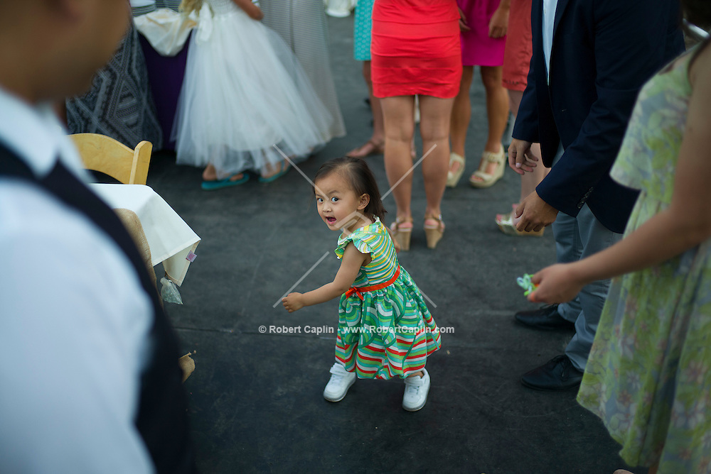 Shaila and Scott Hogan's Wedding.<br /> <br /> (Photo by Robert Caplin)