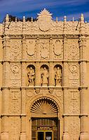 Facade, San Diego Museum of Art, Balboa Park, San Diego, California USA.