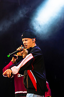 Isak Shorty under Jugendfest 2018 på Color Line Stadion i Ålesund.