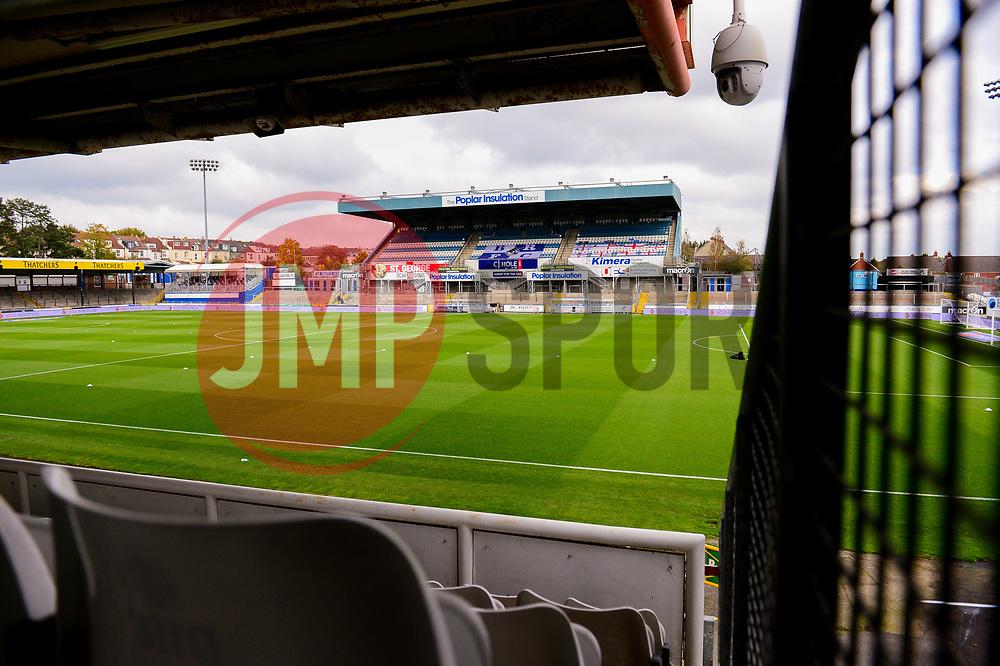 - Mandatory by-line: Dougie Allward/JMP - 17/10/2020 - FOOTBALL - Memorial Stadium - Bristol, England - Bristol Rovers v Burton Albion - Sky Bet League One