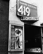 Y-540810-01.  Diamond Horseshoe, Keiko, 419 SW Broadway August 10, 1954