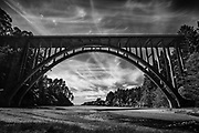 Russian Gulch Bridge in Mendocino, CA.