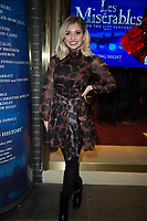 Amy Hart  at the Les Miserables Gala Press Night at the Sondheim Theatre in London's West End.