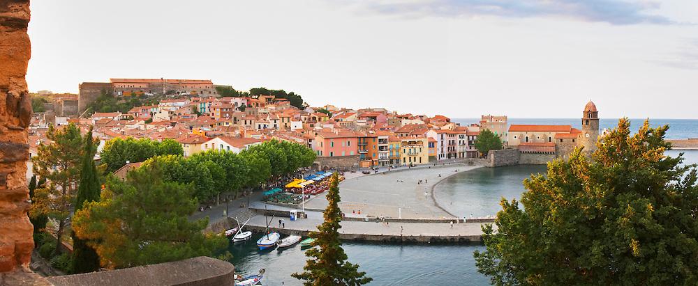 Collioure. Roussillon. France. Europe.