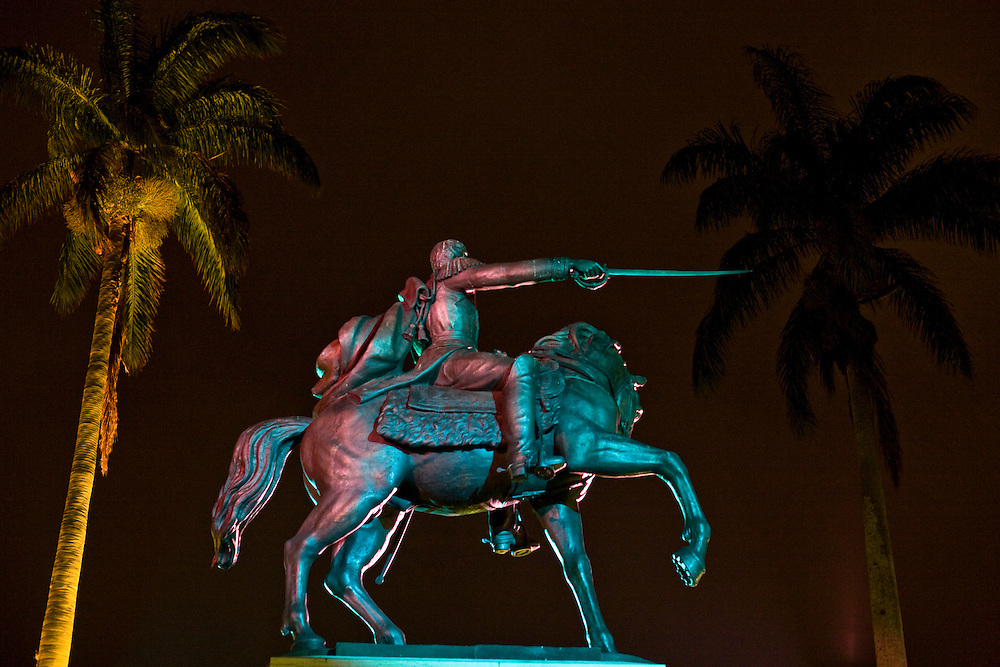 Venezuela_VEN, Venezuela...Monumento historico na Venezuela...Historic Monument in Venezuela...Foto: JOAO MARCOS ROSA / NITRO