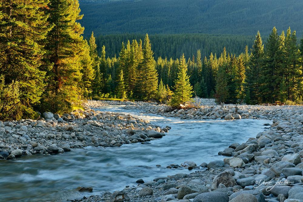 Baker Creek, Banff National Park, Alberta, Canada