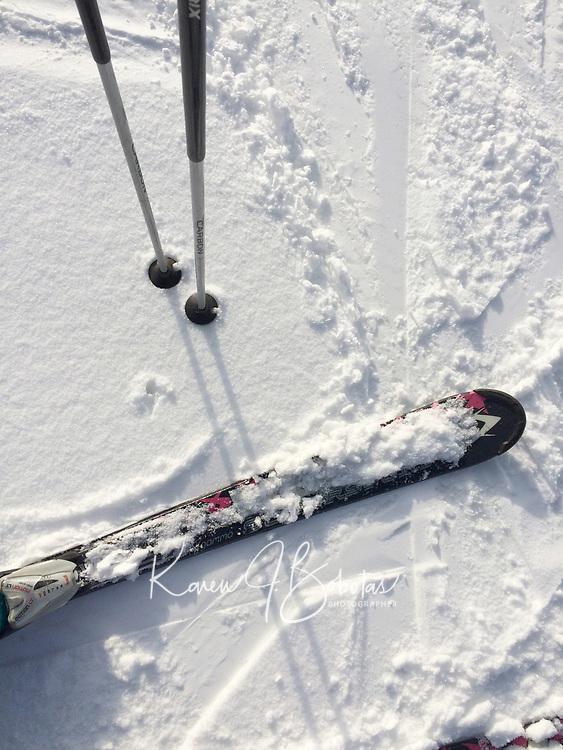 Skiing and Snowboarding at Gunstock Mountain Resort. ©2017 Karen Bobotas Photographer