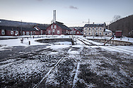 The East Broad Top Railroad shop complex in Rockhill Furnace, PA.