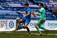 Connor Jennings. Stockport County FC 1-1 Boreham Wood FC. Vanarama National League. Edgeley Park. 23.1.21