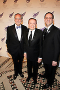 """Doug Leeds, Jerry Herman and Howard Sherman at The American Theater Wing's Annual Spring Gala Honoring Jerry Herman and Visa INC...The American Theatre Wing is best known as the creator of the Antoinette Perry """"Tony"""" Awards, which it presents annually with the Brodway League. The Wing's other activities, dedicated to recognizing excellence and supporting eductaion in theatre."""