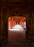 The Forbidden Purple City, The Citadel, Hue, Vietnam. The area of the Imperial City where the The Queen and the King's concubines lived.