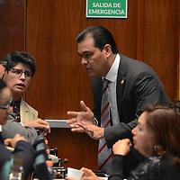 Toluca, México (Diciembre 08, 2016).- Juan Zepeda, Diputado Local por el PRD, durante el Primer Periodo Ordinario en la LIX Legislatura de la cámara de diputados. Agencia MVT / Arturo Hernández.